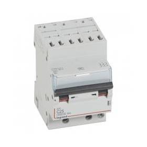Disjoncteur DNX³4500 6kA arrivée borne automatique sortie borne à vis - tripolaire 400V~ 25A courbe C - 1 module LEGRAND