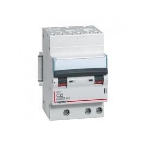 Disjoncteur tripolaire 400V~ 32A courbe C - 1 module - auto/vis - DX³4500 6kA LEGRAND