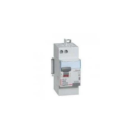 Interrupteur différentiel DX³-ID vis/auto - 2P 230V~ 40A type AC 30mA - 2 modules LEGRAND