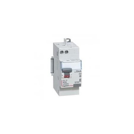 Interrupteur différentiel DX³-ID vis/auto - 2P 230V~ 40A type A 30mA - 2 modules LEGRAND