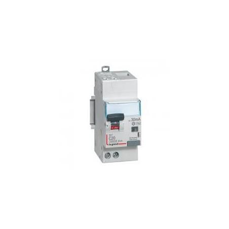 Disjoncteur différentiel U+N 230V~ - 25A typeAC 30mA - 2 modules - auto/vis - DX³4500 LEGRAND