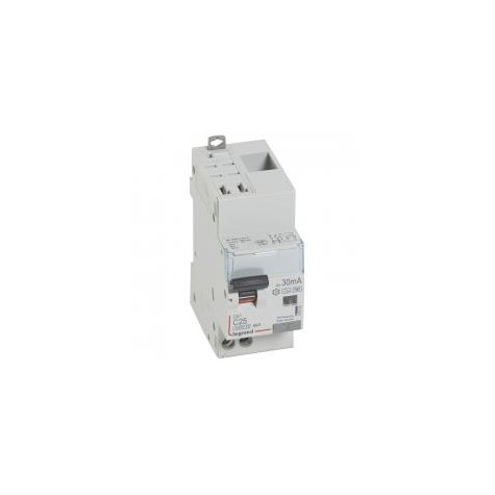 Disjoncteur différentiel U+N 230V~ - 25A typeF 30mA - 2 modules - auto/vis - DX³4500 LEGRAND