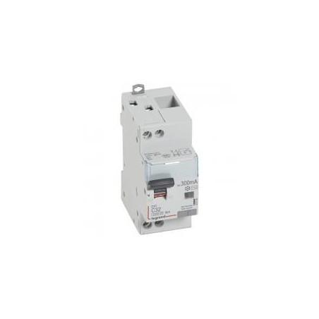 Disjoncteur différentiel U+N 230V~ - 32A typeAC 300mA - courbe C - 2 modules - vis/vis - DX³4500 LEGRAND