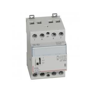 Contacteur de puissance CX³ bobine 230V~ - 4P 250V~ - 63A - contact 4O - 3 modules LEGRAND