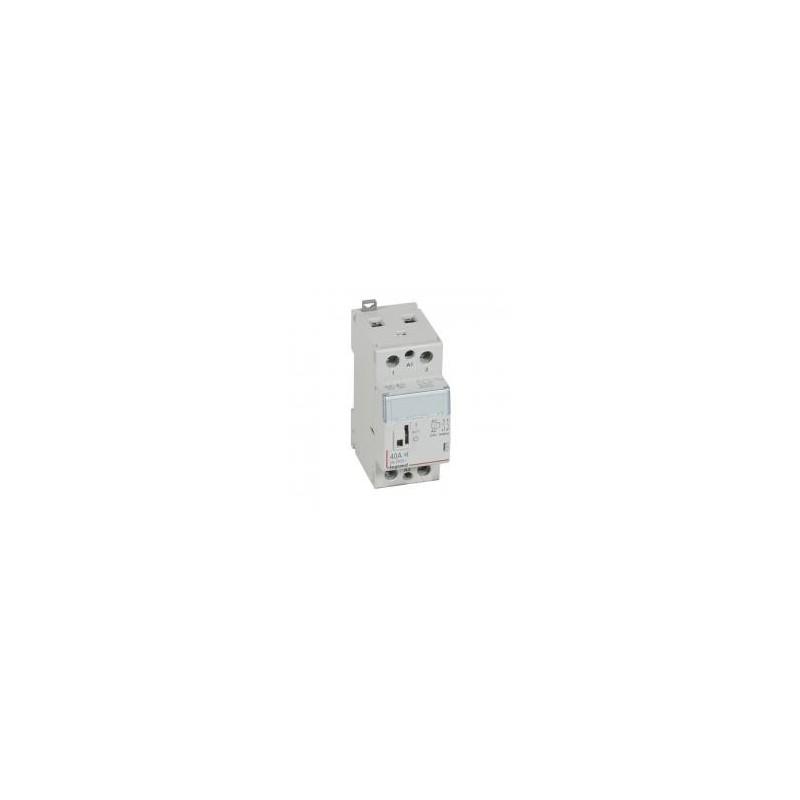 Contacteur de puissance CX³ silencieux bobine 230V~ - 2P 250V~ - 40A - contact 2F - 2 modules LEGRAND