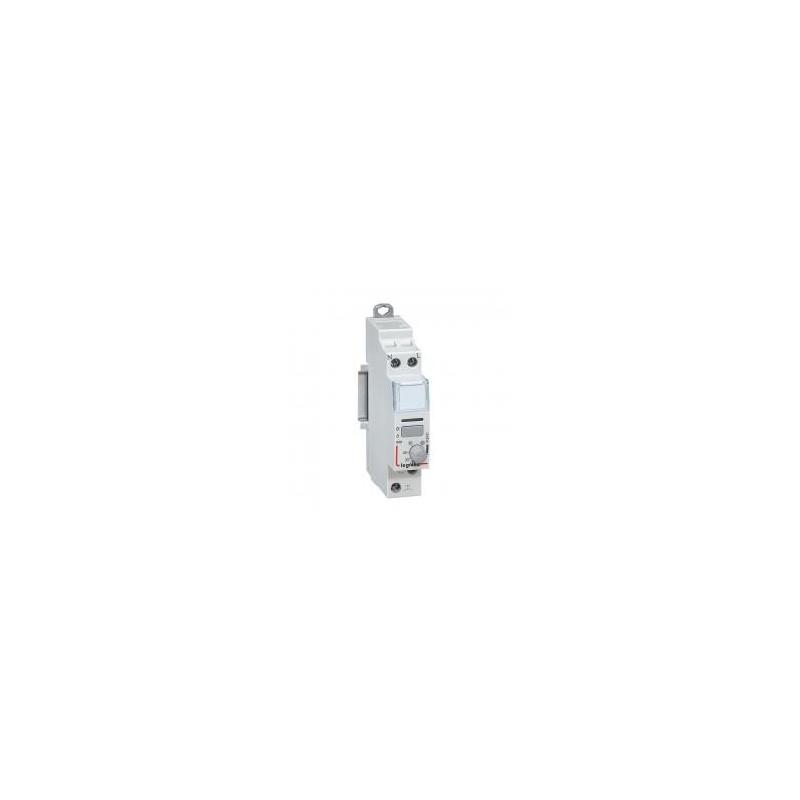 Télérupteur silencieux temporisé à vis 230V~ 1P 250V~ - 16A - 1F - 1 mod. LEGRAND