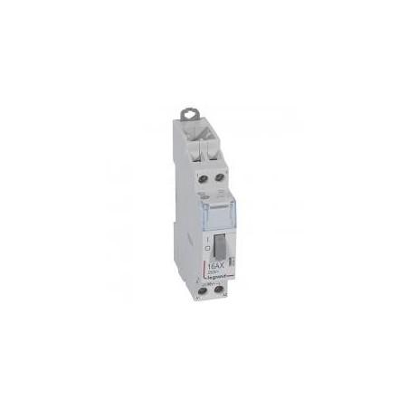 Télérupteur standard avec bornes à vis 2P 16A 250V~ contact 2F - tension commande 48V~ - 1 module LEGRAND