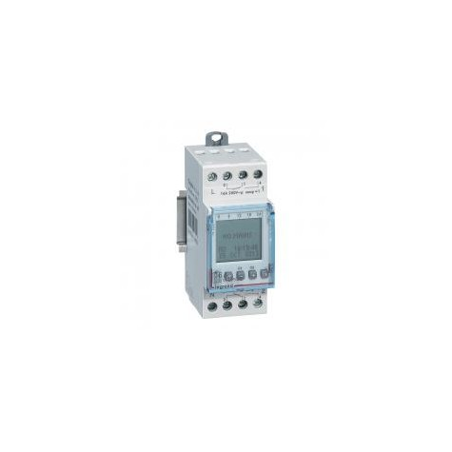 Interrupteur horaire programmable annuel - 2 sorties 16A 250V~ - alimentation 230V~ LEGRAND