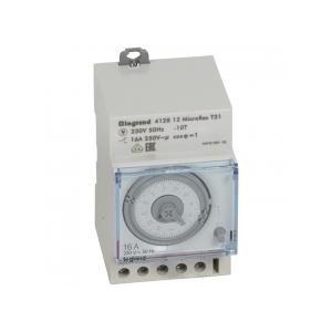 Interrupteur horaire analogique modulaire programmable manuel journalier - cadran horizontal sans réserve de marche LEGRAND