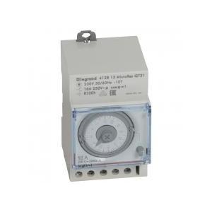 Interrupteur horaire analogique modulaire programmable manuel journalier - cadran horizontal avec réserve de marche LEGRAND