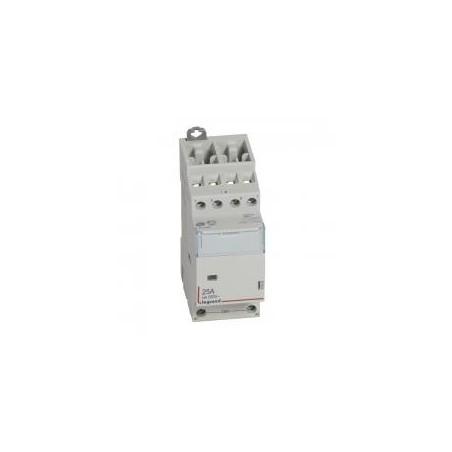 Contacteur de puissance CX³ bobine 230V~ sans commande manuelle - 4P 400V~ - 25A - contact 2O+2F - 2 modules LEGRAND