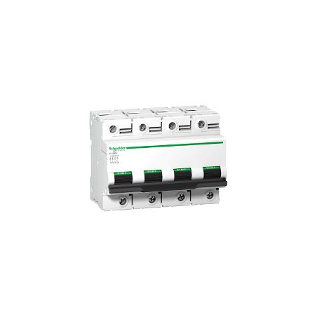 Disjoncteur 125A courbe C - 10 kA - C120N 4P SCHNEIDER