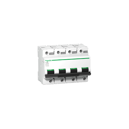 Disjoncteur 63A courbe D - 4P - 10 kA - C120N SCHNEIDER