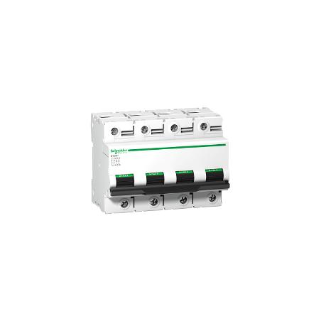 Disjoncteur 80A courbe C - 4P - 15 kA - C120H SCHNEIDER