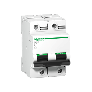Disjoncteur C120H 2P 80 A, courbe D, 15 kA - A9N18501 SCHNEIDER