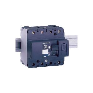 Disjoncteur modulaire NG125N - 4P - 125A - courbe D SCHNEIDER