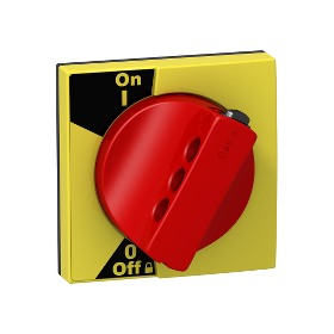 Acti9, commande rotative rouge pour iC60 et iID SCHNEIDER