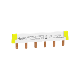 Acti9 iC60 - peigne à dents - 1P - 100A - 6 modules de 18mm SCHNEIDER