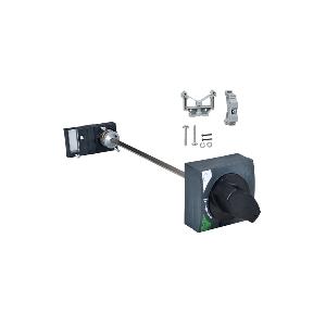 Commande rotative frontale pour NG125 3P ou 4P - poignée noire SCHNEIDER