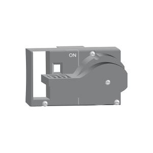 Commande rotative frontale - pour NG 125 3P ou 4P - poignée rouge SCHNEIDER
