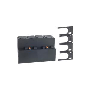 Cache-bornes plombables amont / aval pour disjoncteur 2P - Lot de 2 SCHNEIDER