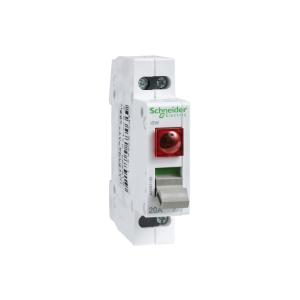 Interrupteur de commande à voyant lumineux 230V - 32A 2P - 250VCA - Acti9 iSW SCHNEIDER