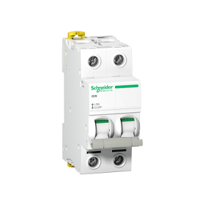Acti9, iSW interrupteur-sectionneur 2P 63A 415VAC SCHNEIDER