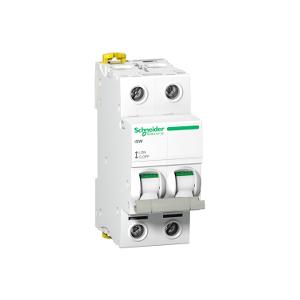 Interrupteur-sectionneur Acti9, iSW 2P 63A 415VAC SCHNEIDER