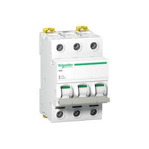 Interrupteur-sectionneur Acti9, iSW 3P 63A 415VAC SCHNEIDER