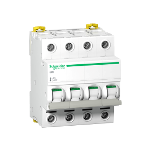 Interrupteur-sectionneur Acti9, iSW 4P 63A 415VAC SCHNEIDER