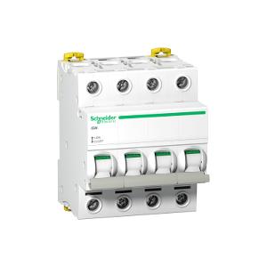 Interrupteur-sectionneur Acti9, iSW 4P 100A 415VAC SCHNEIDER