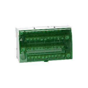 Répartiteur étagé tétrapolaire 160A - 4x12 trous - Linergy DS SCHNEIDER