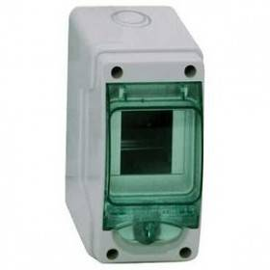 Mini coffret KAEDRA 3 modules - 80 x 150 mm - pour appareillage modulaire SCHNEIDER