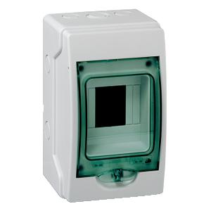 Mini coffret KAEDRA 4 modules - 123 x 200 mm- pour appareillage modulaire SCHNEIDER