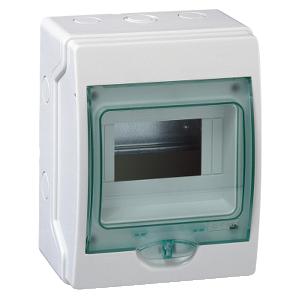 Mini coffret KAEDRA 6 modules - 159 x 200 mm - pour appareillage modulaire SCHNEIDER