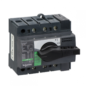 Interrupteur-sectionneur 63A 3P - Compact INS63 SCHNEIDER