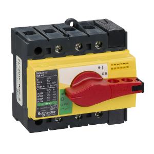 Interrupteur-sectionneur 80A 3P - Compact INS80 SCHNEIDER