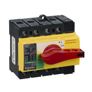 Interrupteur-sectionneur 80A 4P - Compact INS80 SCHNEIDER