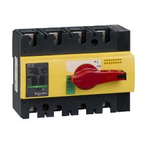 Interrupteur-sectionneur 125A 4P - Compact INS125 SCHNEIDER