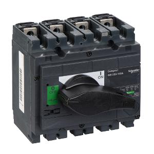 Interrupteur-sectionneur 200A 3P - Compact INS250 SCHNEIDER
