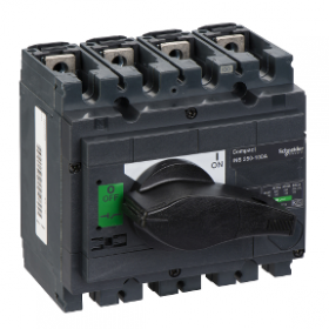 Interrupteur-sectionneur 160A 4P - Compact INS250 SCHNEIDER