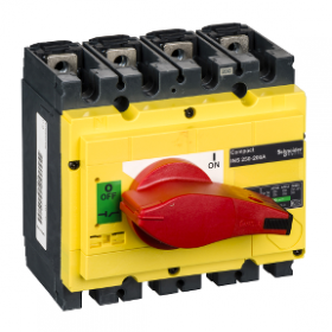 Interrupteur-sectionneur 200A 4P - Compact INS250 SCHNEIDER