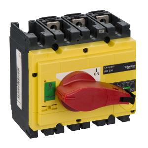 Interrupteur-sectionneur 250A 3P - Compact INS250 SCHNEIDER