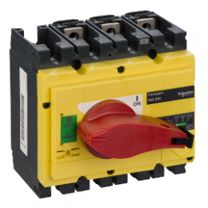 Interrupteur-sectionneur 250A 4P - Compact INS250 SCHNEIDER