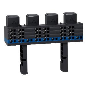 Répartiteur Multiclip 4P, 160 A, 1/2 rangée SCHNEIDER