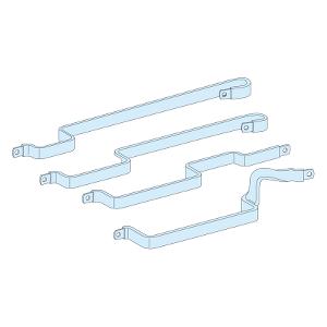 Liaison jeu de barres de gaine pour répartiteur Multiclip 200 A SCHNEIDER