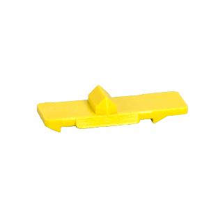 Clip jaune de liaison entre contacteur/télérupteur et auxiliaires - Acti9 SCHNEIDER
