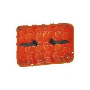 Boîte multimatériaux Batibox - grand format - 2x3 postes / 2x6/8 mod - prof 50 LEGRAND