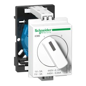 Acti9, iCME commutateur rotatif 2 directions pour circuits électroniques SCHNEIDER