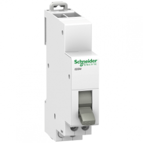 Commutateur 3 positions 1 contact inverseur OF 20A 230V - Acti9, iSSW SCHNEIDER